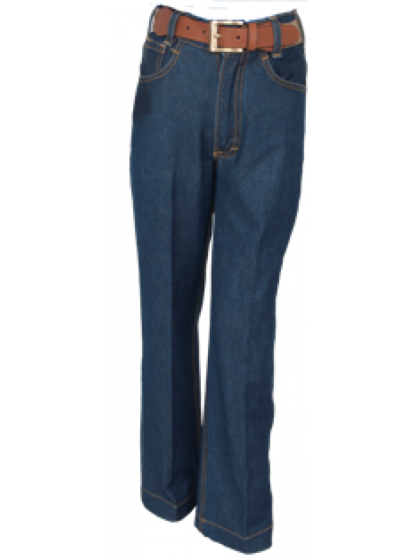 Half Elastic Denim Pant / Trouser(4th,5th,6th STD)