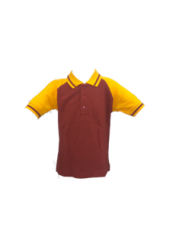 Regular T-Shirt (Maroon) (STD-4 to STD-8)