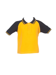 REGULAR T-SHIRTS (YELLOW)-(Pre-Nur to 3rd STD)