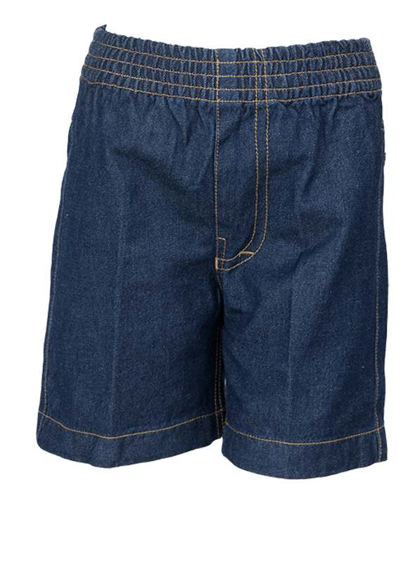 FULL ELASTIC DENIM SHORTS (NUR-UKG)