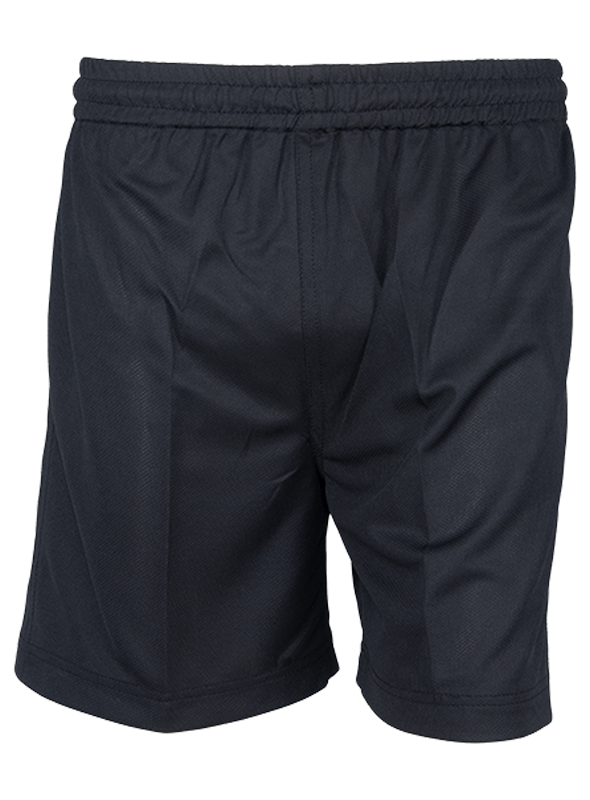 Sports Shorts- Black (STD-4 to STD-12)