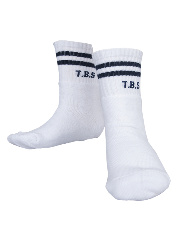 SOCKS- TBS-Pack of 3 Pairs (Pre-Nur to STD-12)