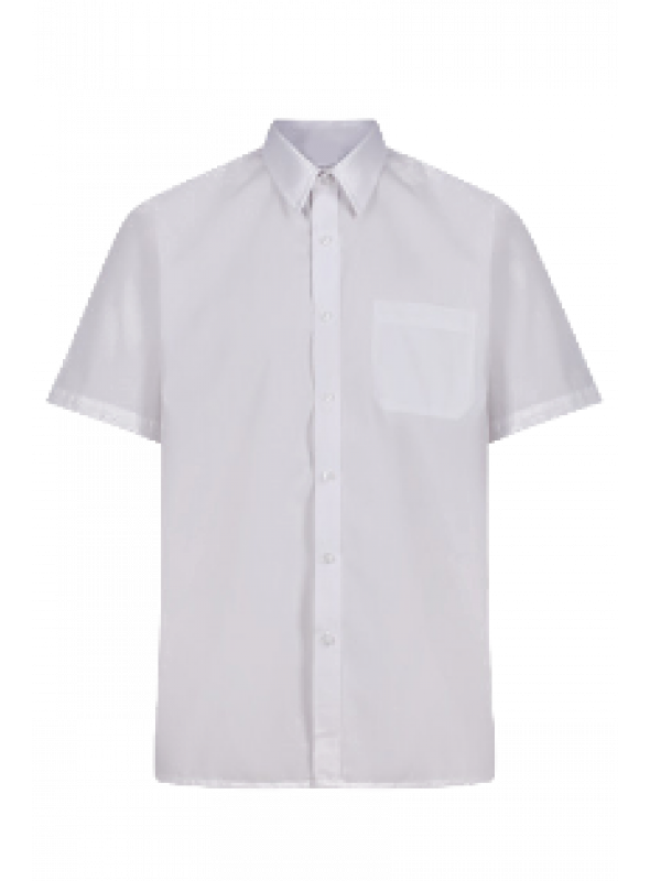 White Half Shirt- Boys( 9th STD to 12th STD)
